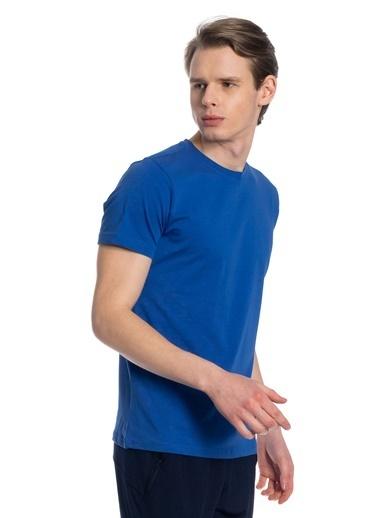 Slazenger Coby Erkek Kısa Kol Tişört İndigo